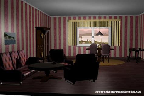 Complete Living Room by Complete Living Room For Poser Poser Sharecg