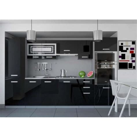cuisine equipee complete justhome infinity cuisine 233 quip 233 e compl 232 te 300 cm couleur
