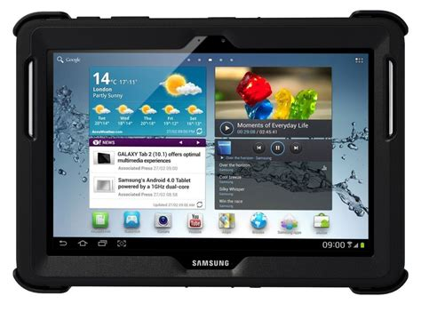 Casing Samsung Tab 2 10 1 P5100 otterbox defender series original for samsung galaxy