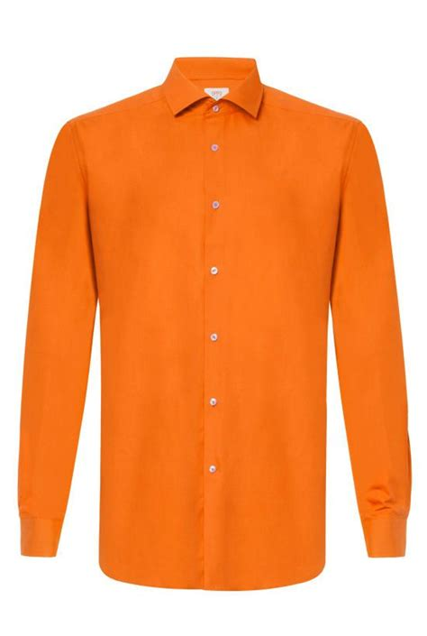 White Shirt With Orange by Orange Dress Shirt For Fitted Orange Shirt Opposuits