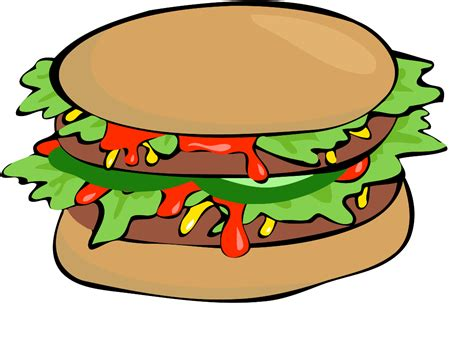 hamburger clipart clipart hamburger dothuytinh