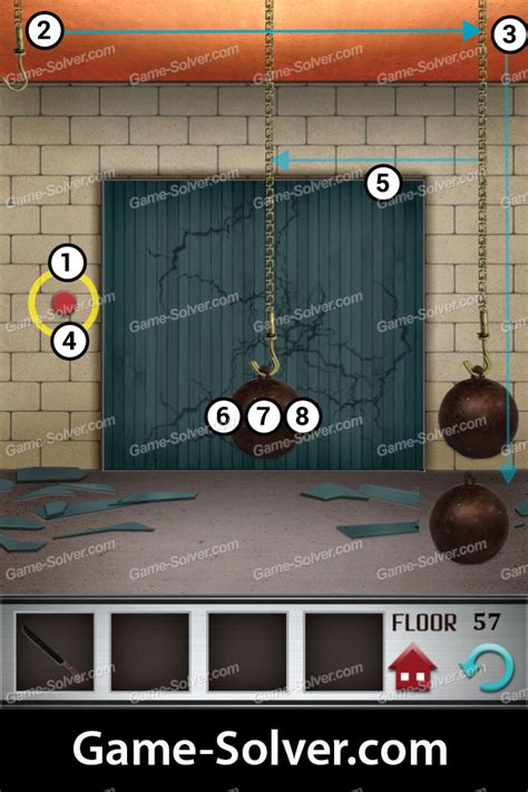 100 Floors Level 57 Solver