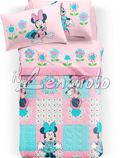 Copriletto Caleffi Disney by Copriletto Singolo Disney Minnie Patchwork Di Caleffi
