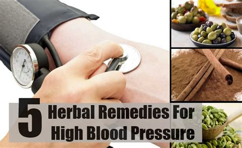 herbal remedies for high blood pressure high blood