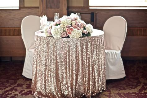 sequin tablecloths where to find affordable ones