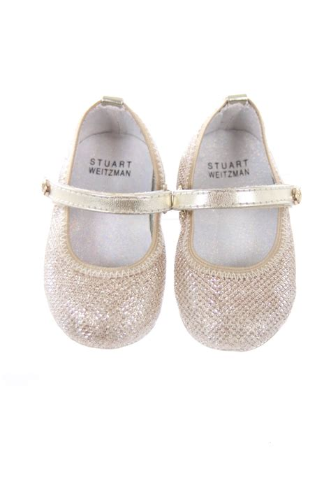 gold shoes size 3 stuart weitzman gold shoes infant size 3 shoes