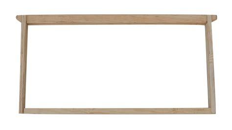 Wooden Frame 1 unassembled wooden 9 1 8 frames 9 hives