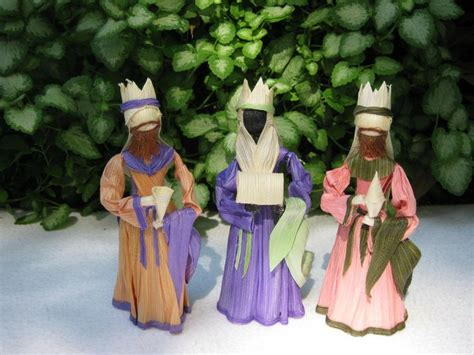 corn husk doll nativity set 1000 images about mexican ornaments on