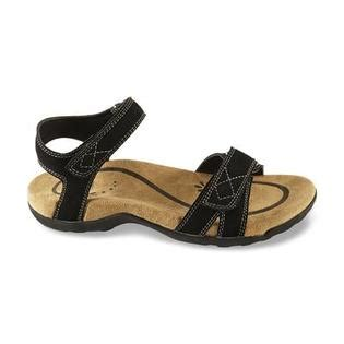 route 66 s black walking sandal clothing