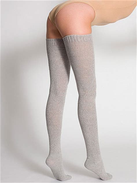 Where Can I Buy Legs by Solid Thigh High Socks American Apparel