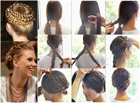 Braided Hairstyles Overnight by Make Different Style Braided Crowns At Home With Easy