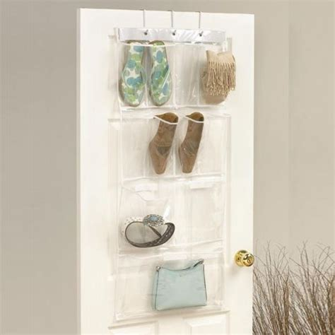 hanging plastic bathroom storage pockets organiser