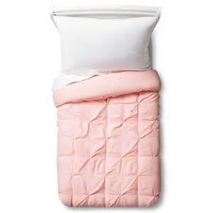 light pink comforter pinch pleat comforter toddler light pink pillowfort target