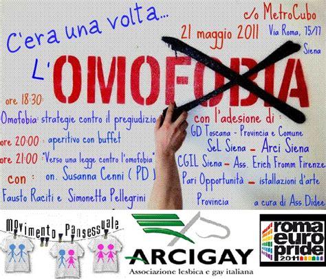 ufficio sta cgil 21 maggio c era una volta l omofobia at cgil siena