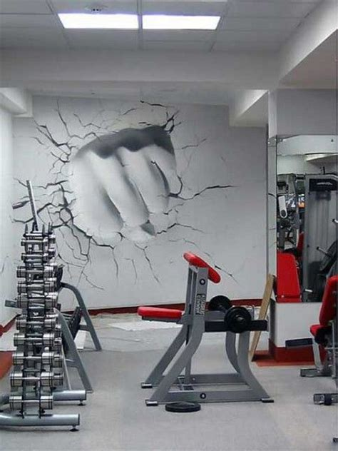 home gym wall decor 17 best ideas about gym design on pinterest basement