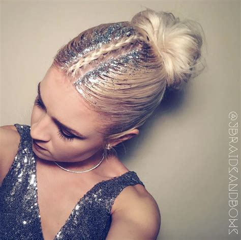 middle part braid hairstyles 41 glamorous glitter root hairstyles for festival season