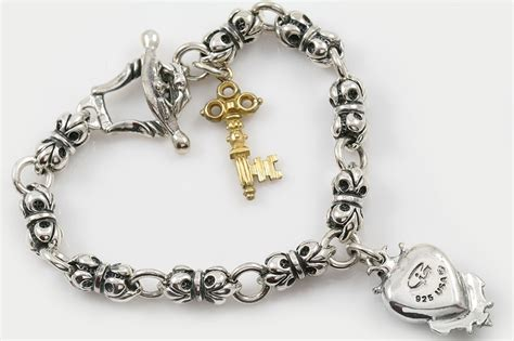 fleur de lis charms for jewelry giani inspirations fleur de lis chain key charm