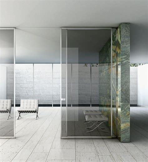 modern glass room dividers
