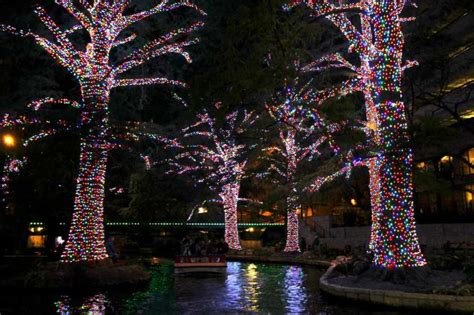 christmas trees for sale in san antonio tx cost of river walk lights nearing 1 million san antonio express news