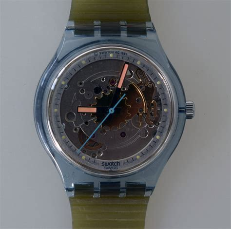 Swatch Seri Aotomatic swatch automatic blue matic san100 never worn mint