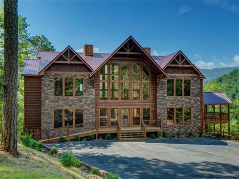 vrbo pigeon forge 4 bedroom mtn views luxury 9 br 9 ba sleeps 40 vrbo