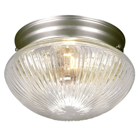 filament design negron 1 light pewter incandescent flush