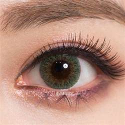 colored contact lenses for buy geo tri color green colored contacts eyecandys