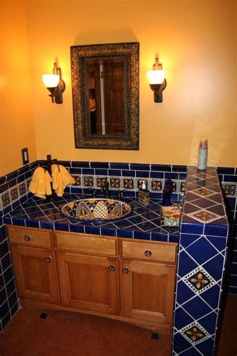 Mexican Bathroom Ideas by 8 Wonderful Mexican Tile Bathroom Designs Bathroom