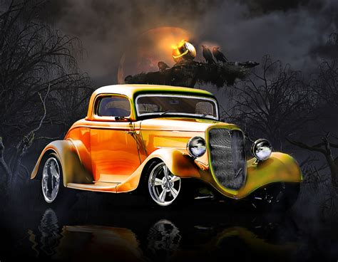 Hot Rod Giveaway - octobers art contest halloween hot rods starts now hot rod forum