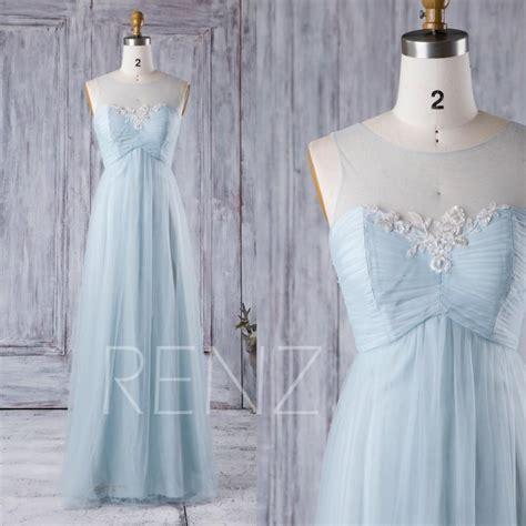 lace light blue bridesmaid dresses 2016 light blue bridesmaid dress empire waist wedding