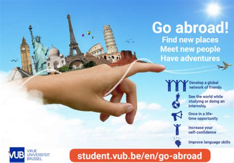 How To Go Abroad For After Mba by Go Abroad Fair Jette Vrije Universiteit Brussel