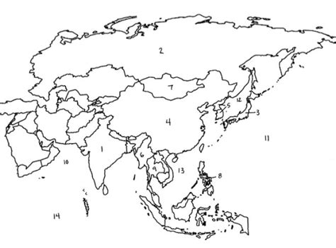 asia map test asia map quizzes