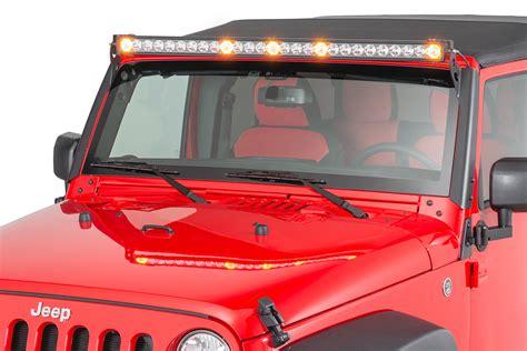 Jeep Light Bar Led Quadratec 174 2 Bolt Led Light Bar Windshield Pillar Mounting