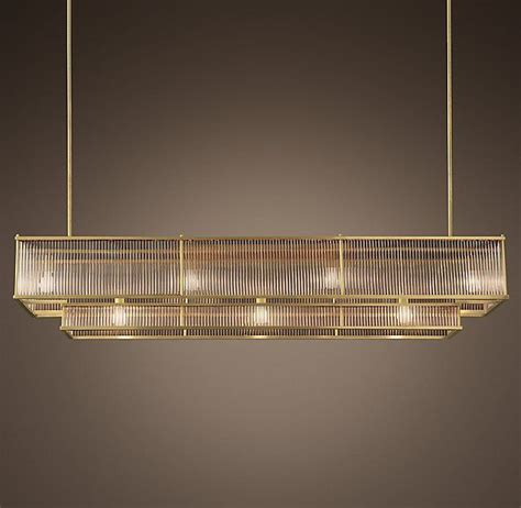 Linear Chandelier Dining Room Marais Linear Chandelier 72 Quot Home Linear Chandelier Chandeliers And Room