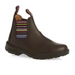 blundstone boots blundstone classic toe boots brown stripe free