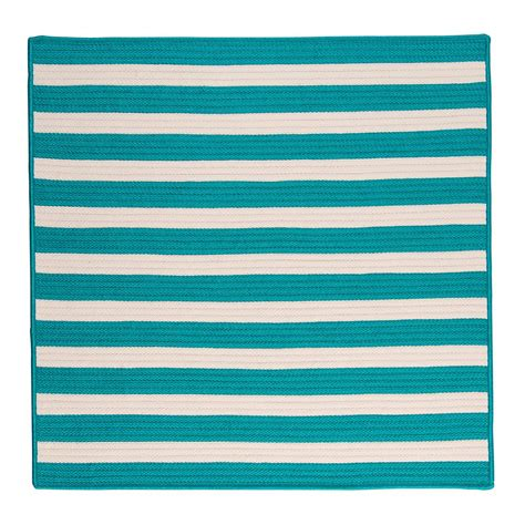 home decorators outdoor rugs home decorators collection baxter turquoise 10 ft x 10 ft