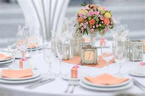 In Table Decorations by Wedding Table Decorations For Your Reception Hitched Co Uk
