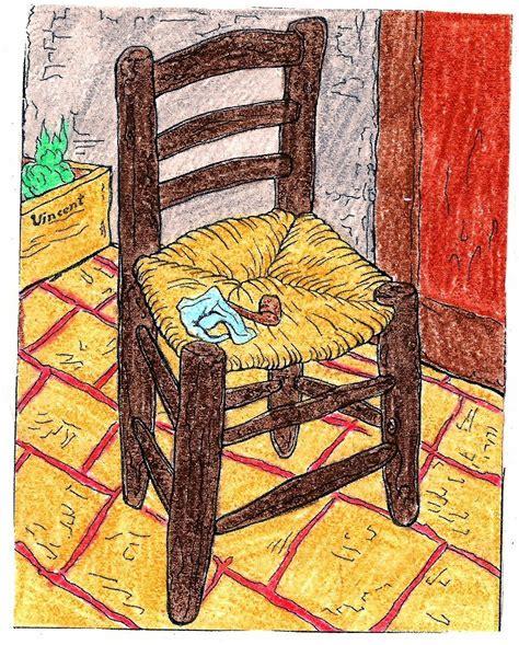 silla de van gogh pl 193 stica en el aula rural de primaria la silla de van