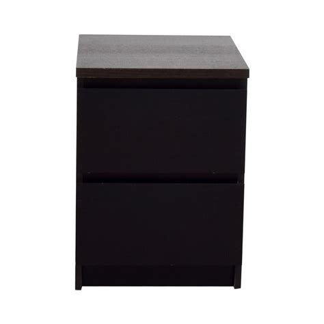 ikea white 2 drawer nightstand best end tables furniture