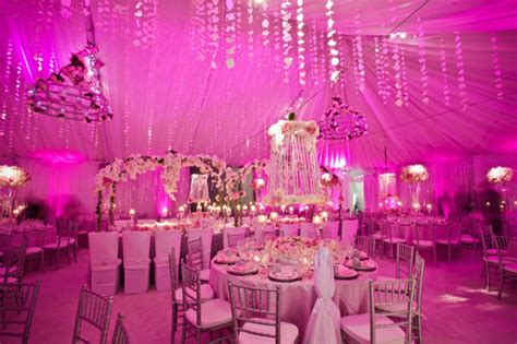 Pink Decorations by Pink Wedding Decor The Magazine
