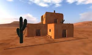 second life marketplace southwest adobe house with intended influences adobe style