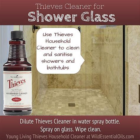 Best Way To Clean Soap Scum From Glass Shower Doors Remove That Soap Scum From Shower Glass Easily With The Thieves Cleaner Http Www