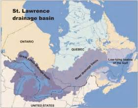 canada map st river environment and climate change canada water st