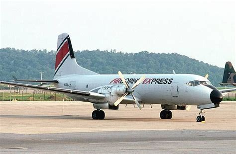 airborne express abx namc ys 11a freighter the worse the weather the lower we d fly my