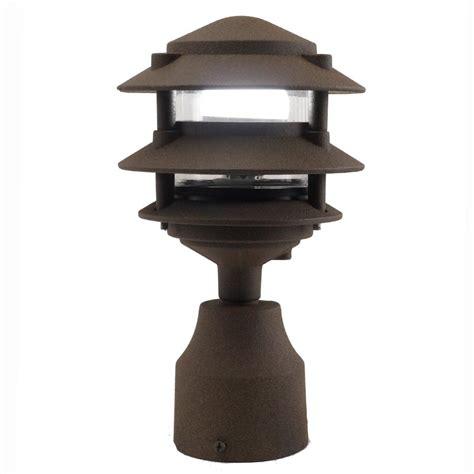 3 tier pagoda light post light 3 tier pagoda pathlight aqlighting