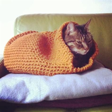 crochet pattern cat cave crocheted cat cave cat diy pinterest