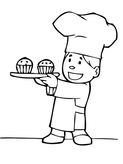 baker coloring pages preschool boulanger colorier boulanger gifs animes 5655458