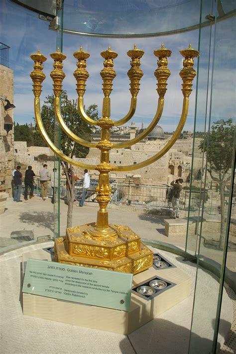 candelabro israel menorah