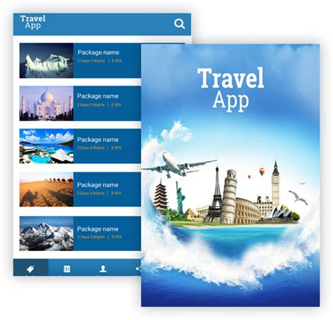 themes agent app free custom travel agent app by appsolz