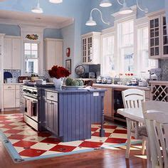 Painted Kitchen Floor Ideas by Painted Floor Ideas For The Kitchen Diamond Pattern